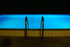 Night Time Swimming Pool Stock Photos