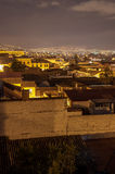 Quito at Night Stock Photo