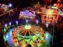 Sacramento State Fair View At Night royalty free stock photos
