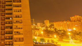 Night to Day, TimeLapse. City twenty-four hours, Time Lapse stock footage