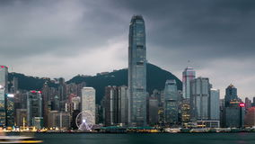 Night to day timelapse of Hong Kong