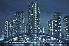 Night Tokyo royalty free stock photography