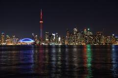 Night Toronto. Toronto waterfront captured at night Stock Photography