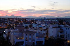 Night Of Torrevieja Royalty Free Stock Image