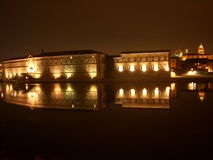 Night at toulouse. The night scence at toulouse Royalty Free Stock Images
