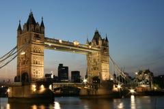 Night Tower Bridge Stock Photography