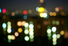Night town Royalty Free Stock Photography