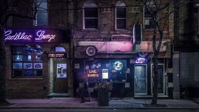 Night, Town, City, Street Royalty Free Stock Images