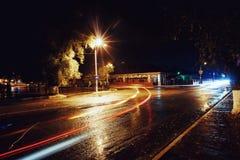 Night town royalty free stock photo