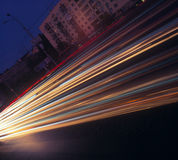 Night traffic. Royalty Free Stock Photos
