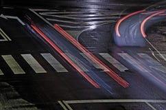 Night Traffic Stock Photography