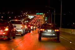 Night Traffic Royalty Free Stock Image