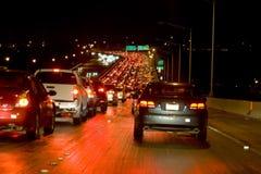 night traffic Στοκ εικόνα με δικαίωμα ελεύθερης χρήσης