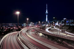 Night Traffic Royalty Free Stock Photo