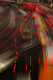 Night traffic light Stock Image