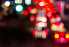 Night traffic. Motion blur. Royalty Free Stock Image