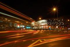 Night Traffic in Motion Stock Photos