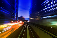Night traffics Stock Photo