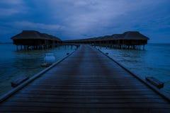 Night on tropical island Stock Image