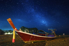 Night tropical landscape. Thailand Stock Images