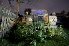 Night truck Royalty Free Stock Images