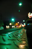 night truck στοκ φωτογραφία με δικαίωμα ελεύθερης χρήσης