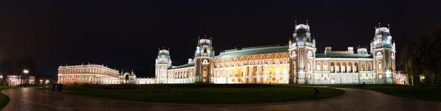 Night Tsaritsino Palace Stock Photos