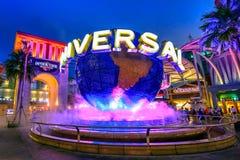 Free Night Universal Studios Globe Royalty Free Stock Photography - 116949307
