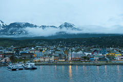 Night in Ushuaia