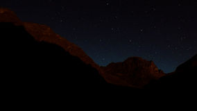 Night in Val di Gesso, France Stock Image