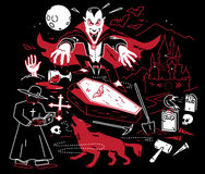 Night of the Vampire Royalty Free Stock Image