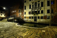 Night in Venice Royalty Free Stock Photography