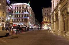 Night in Vienna Royalty Free Stock Photo