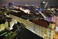 Night Vienna Royalty Free Stock Photography