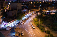 Night view. Of Ahvaz city in southern Iran Stock Photos