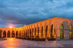 Night view of the Baku city Stock Photography
