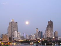 Night view of Bangkok Royalty Free Stock Images