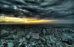 Night View of Bangkok Stock Photo