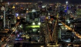 Night View of Bangkok, Thailand Stock Images