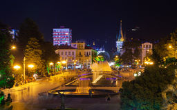 Night view of Batumi Royalty Free Stock Images