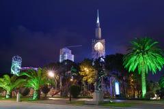 Night view of Batumi Stock Image