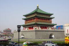 Xi `an bell tower and drum tower