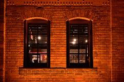 Brick Wall At Night Royalty Free Stock Photos - Image ...  Brick Wall At N...