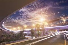 Overpass bridge Stock Photo
