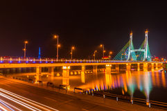 Night view - Bridge1 Royalty Free Stock Photography