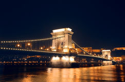 Night view of budapest Stock Photo