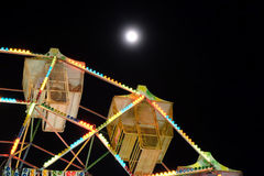 Night View of a carousel Stock Images