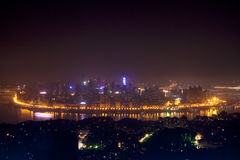Night View of Chongqing Royalty Free Stock Photography