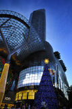 Night view of Christmas Decoration at Singapore Orchard Road Royalty Free Stock Image