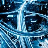 Night view of city Stock Image